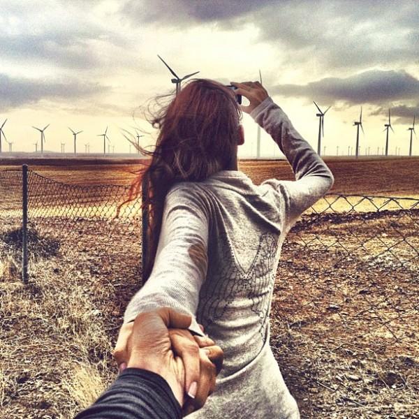 永遠追隨你!創意又浪漫的旅行照片17