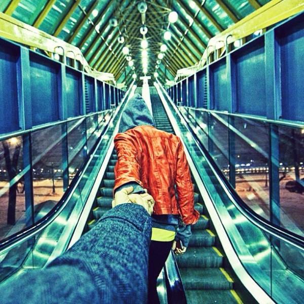 永遠追隨你!創意又浪漫的旅行照片18