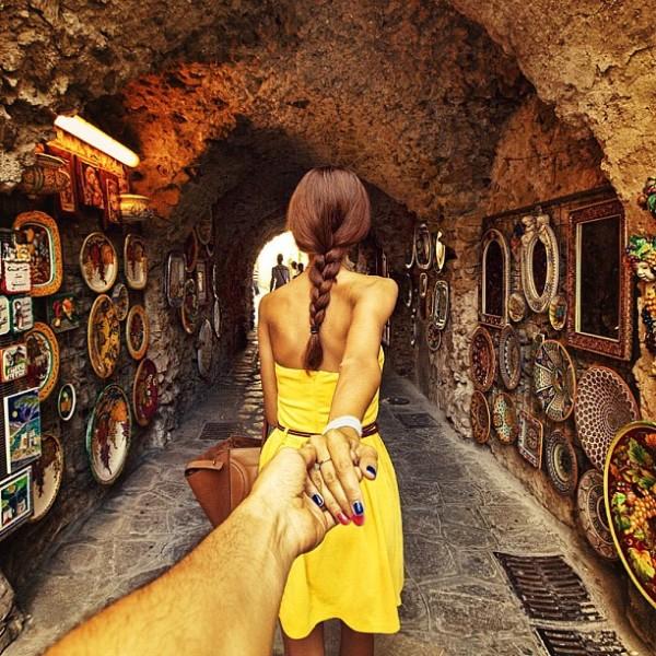 永遠追隨你!創意又浪漫的旅行照片3
