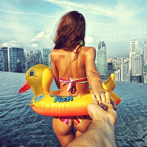 永遠追隨你!創意又浪漫的旅行照片4