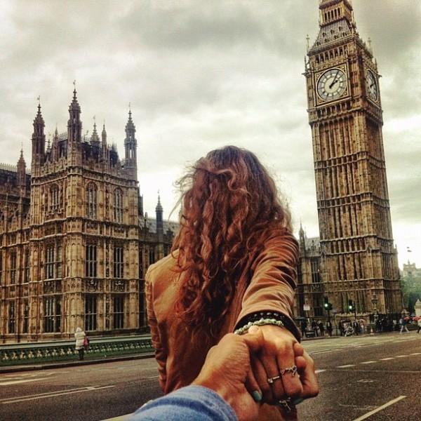 永遠追隨你!創意又浪漫的旅行照片6