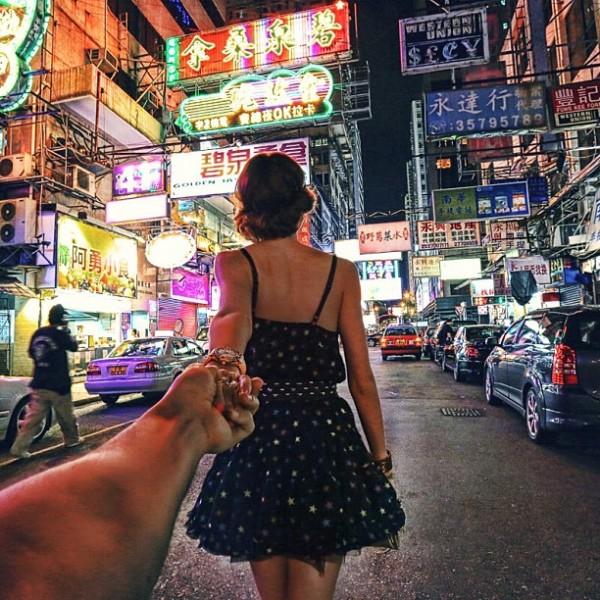 永遠追隨你!創意又浪漫的旅行照片8