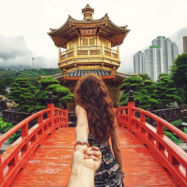 永遠追隨你!創意又浪漫的旅行照片9