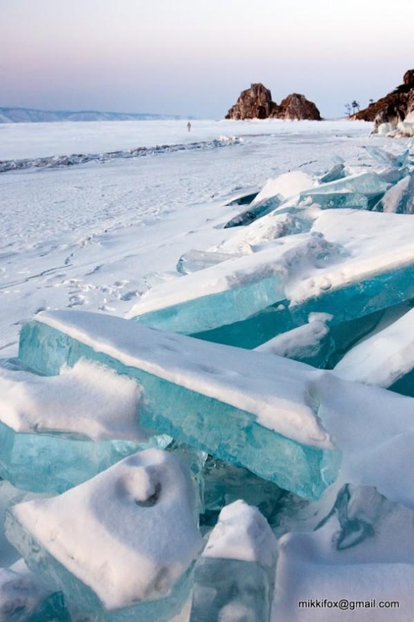 雪中寶石!冰湖的華麗奇觀5