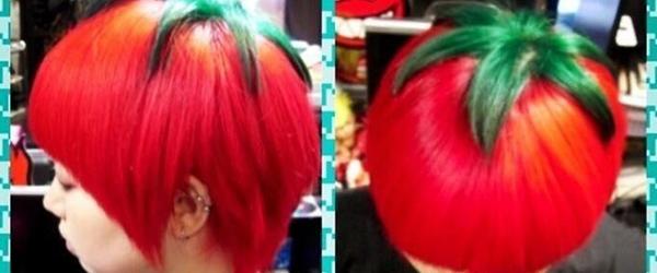另類時尚?日本的番茄頭