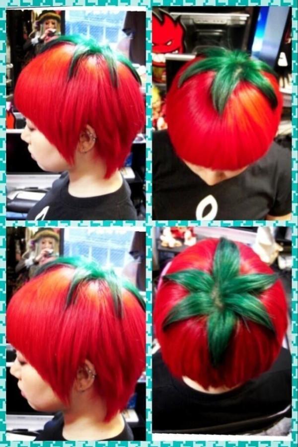 另類時尚?日本的番茄頭1