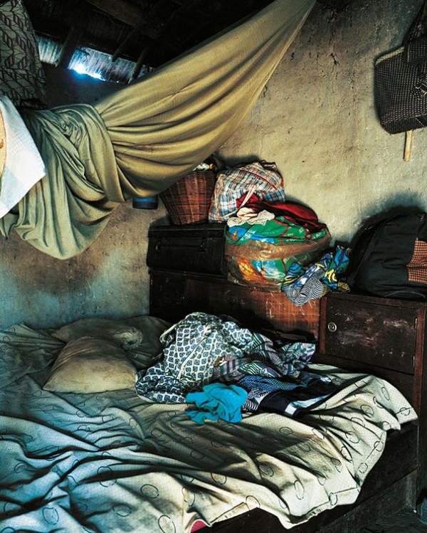 各國小孩與他們睡覺的地方24