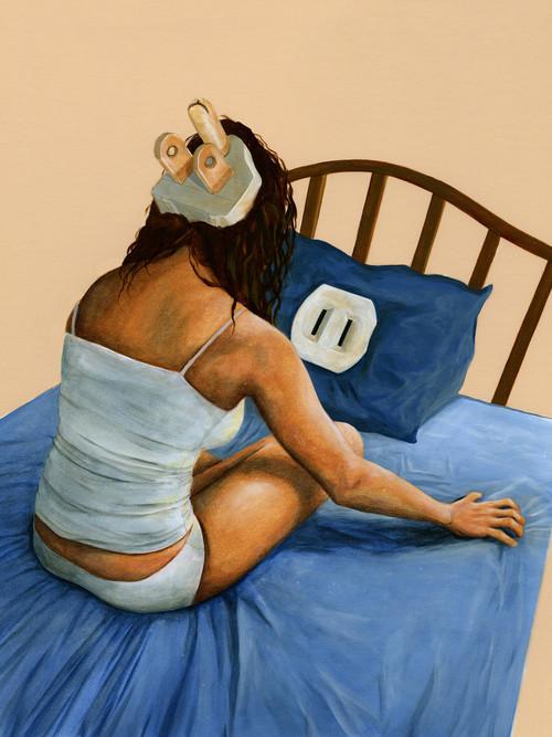 失眠症:枕頭與我1