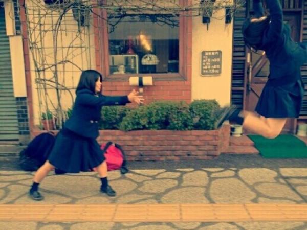 日本女學生帶頭!七龍珠氣功照引領風潮10