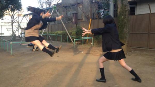 日本女學生帶頭!七龍珠氣功照引領風潮11