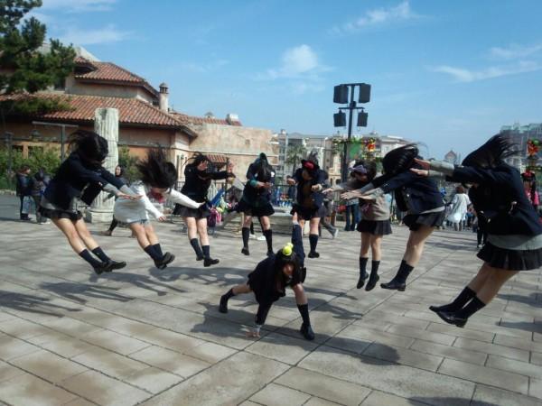 日本女學生帶頭!七龍珠氣功照引領風潮18