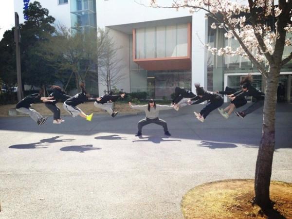 日本女學生帶頭!七龍珠氣功照引領風潮2