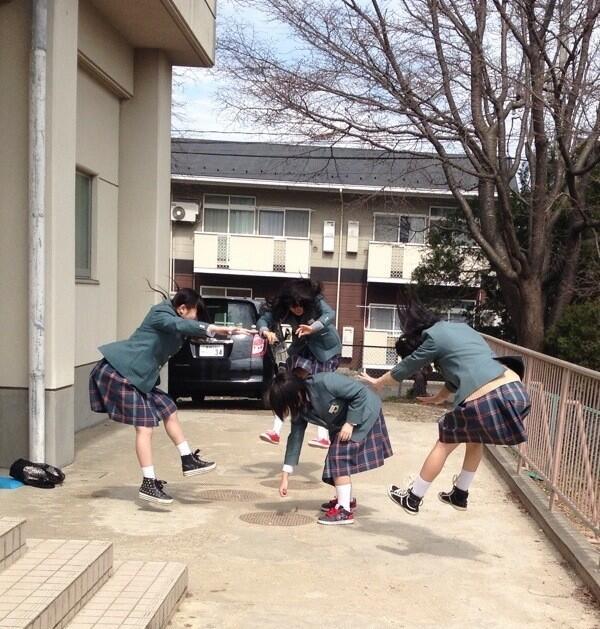 日本女學生帶頭!七龍珠氣功照引領風潮22