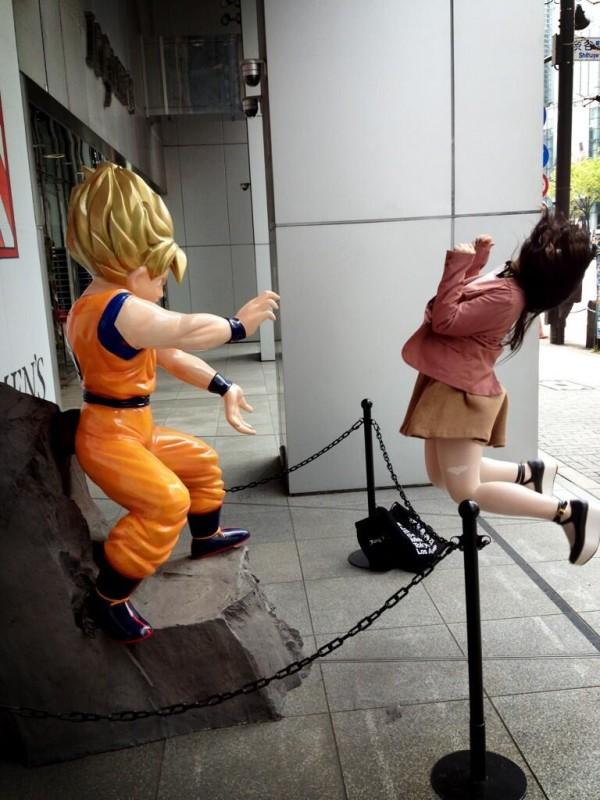 日本女學生帶頭!七龍珠氣功照引領風潮23