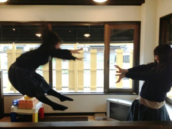 日本女學生帶頭!七龍珠氣功照引領風潮5
