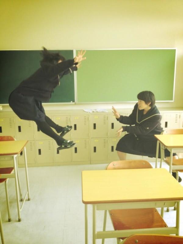 日本女學生帶頭!七龍珠氣功照引領風潮9