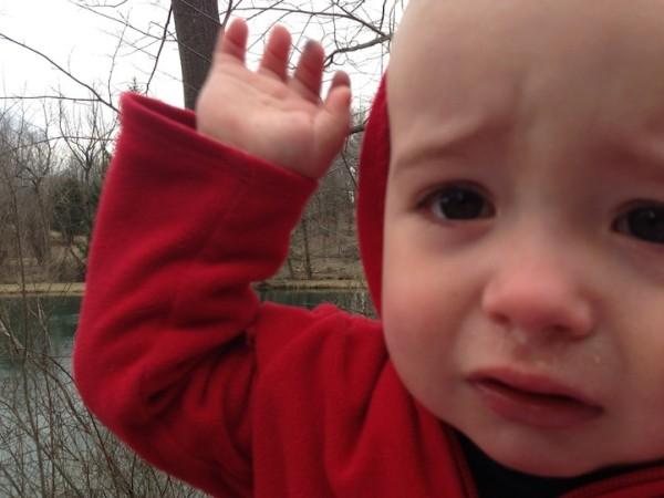 老爸用照片記錄兒子哭哭的荒唐原因11