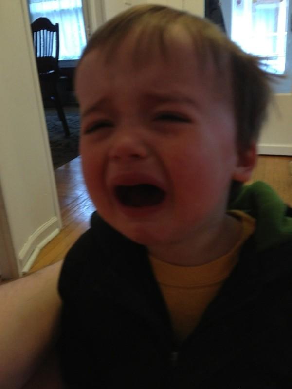 老爸用照片記錄兒子哭哭的荒唐原因4