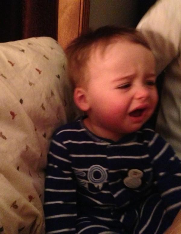 老爸用照片記錄兒子哭哭的荒唐原因5