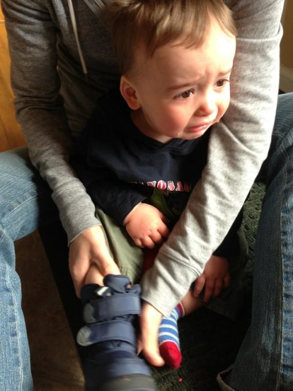 老爸用照片記錄兒子哭哭的荒唐原因6