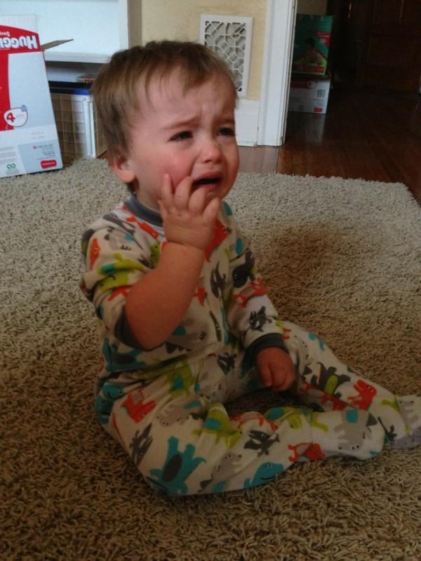 老爸用照片記錄兒子哭哭的荒唐原因7