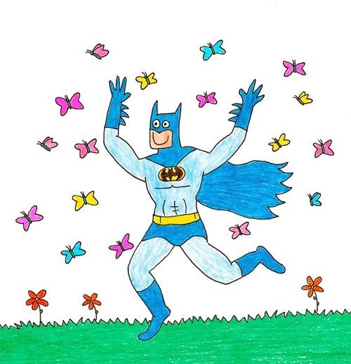 蝙蝠俠好開心!12