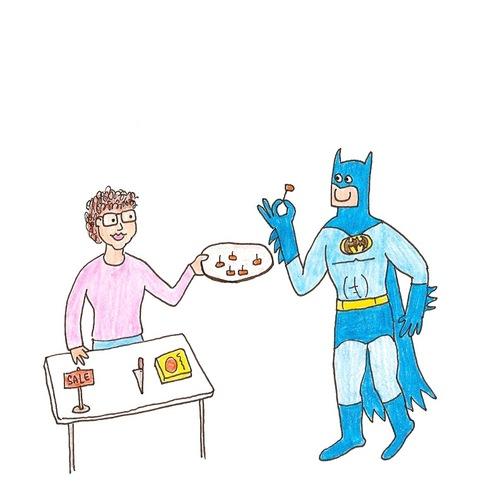 蝙蝠俠好開心!13
