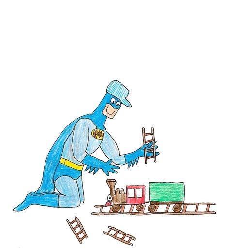 蝙蝠俠好開心!2
