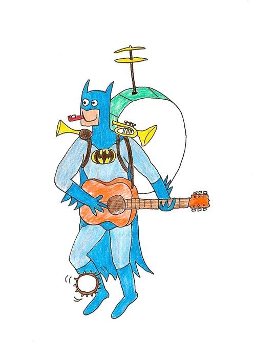 蝙蝠俠好開心!3