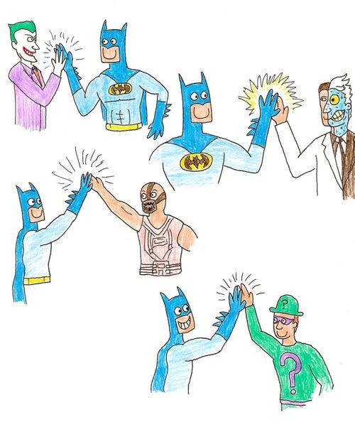 蝙蝠俠好開心!4