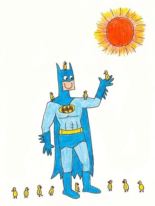 蝙蝠俠好開心!7