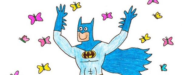 蝙蝠俠好開心