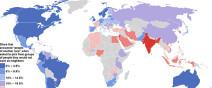 世界各國對其他民族容忍度地圖