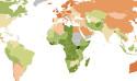 世界各國種族多元程度地圖