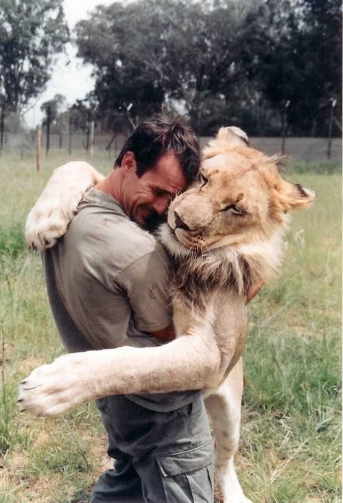 他跟獅子是好麻吉!14