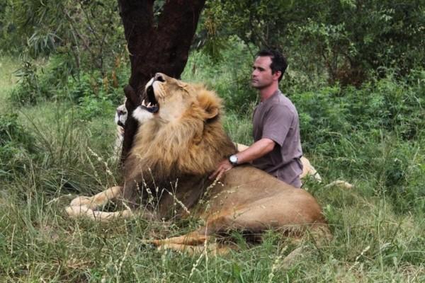 他跟獅子是好麻吉!7