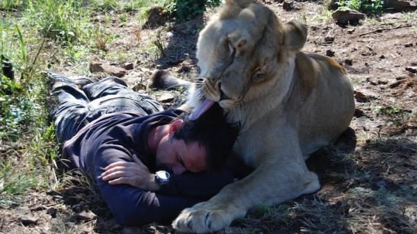 他跟獅子是好麻吉!8
