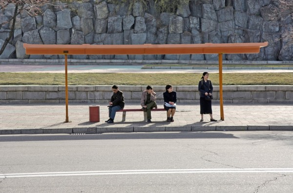 兩個世界,南韓北韓的對照圖1