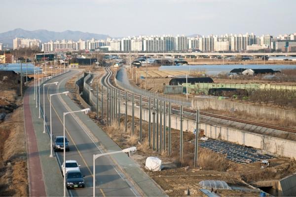 兩個世界,南韓北韓的對照圖7