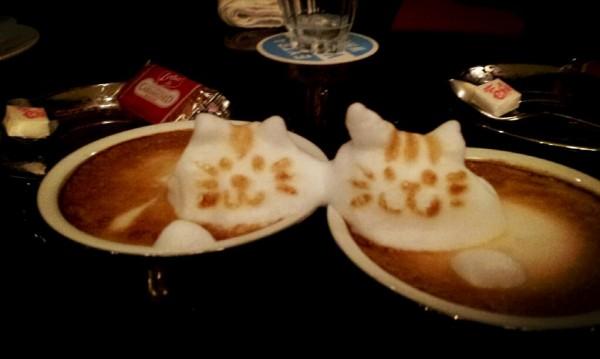 可愛到炸開!拿鐵咖啡奶泡做的動物3