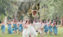 最浪漫的婚禮照:後面有隻暴龍在追