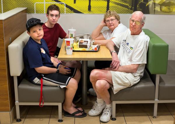 會去吃麥當勞的人11