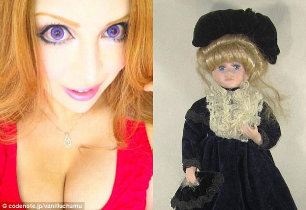 瘋了?花了三百萬整成洋娃娃的日本女人2