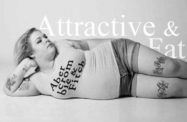 胖女人的反擊!A&F被惡搞成Attractive & Fat5