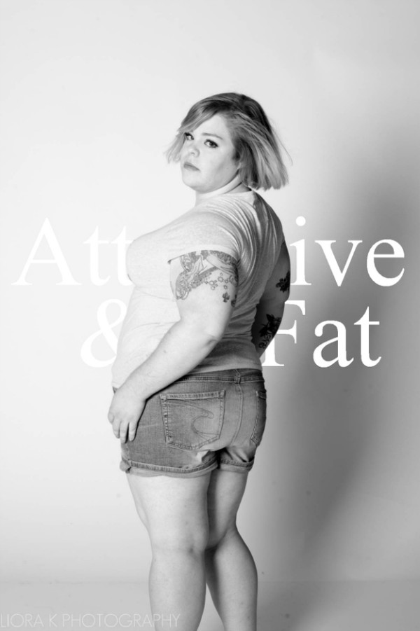 胖女人的反擊!A&F被惡搞成Attractive & Fat9