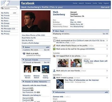 臉書個人頁面成長史2