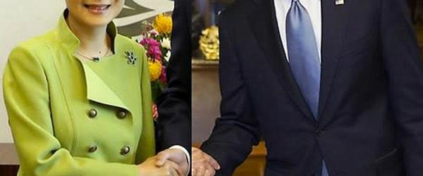 超囧的南韓與美國總統Photoshop握手照
