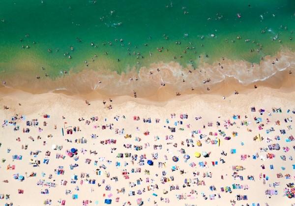 飛機從你頭上飛過的海灘8
