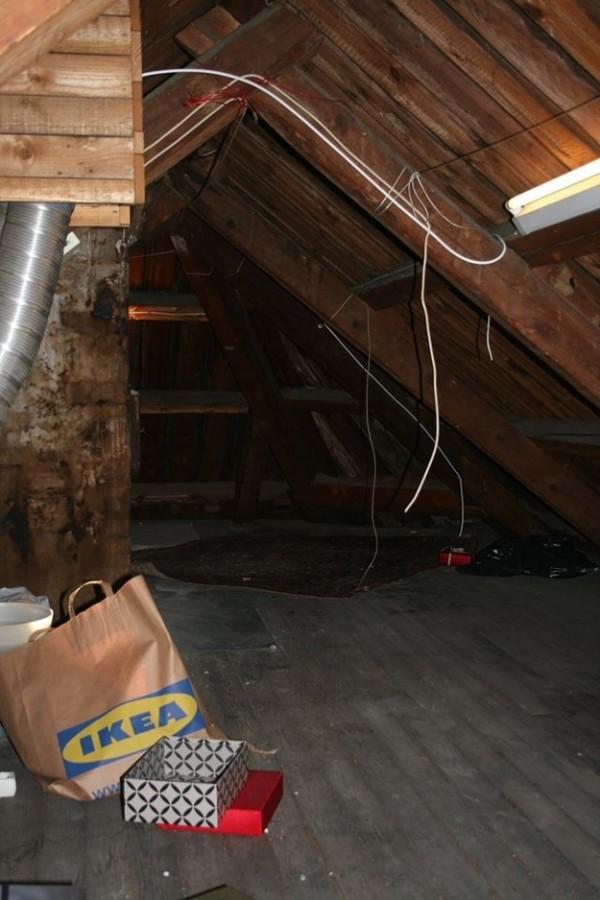 挪威學生在閣樓發現二次世界大戰秘室2