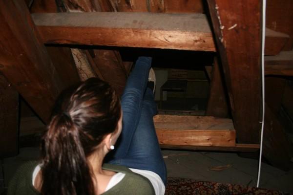 挪威學生在閣樓發現二次世界大戰秘室4